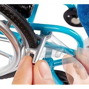 Barbie Fashionista Muñeca rubia en silla de ruedas
