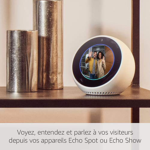 51nGxFX7%2BlL [Bon Plan Ring] Ring Door View Cam   Remplacez votre judas par une nouvelle sonnette vidéo HD 1080p équipée d'un système audio bidirectionnel   Pour portes d'une épaisseur de 34mm à 55mm.