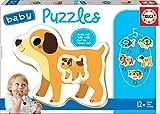Educa Borrás domésticos Baby Puzzles Animales (17573)