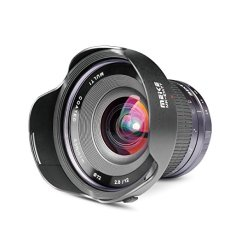 Meike Optics MK - Objetivo Ultra Gran Angular para Montura Sony E-Mount (12 mm, f2.8)