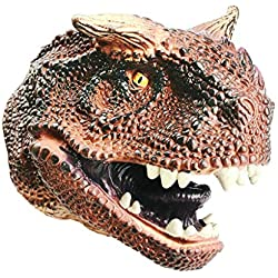 TianranRT - Marionetas de dinosaurio para jugar con la cabeza del Spinosaurus