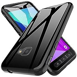 Kaufen LK Samsung Galaxy Xcover 4 Hülle, Ultra Schlank Dünn TPU Gel Gummi Weiche Haut Silikon Anti-Kratzer Schutzhülle Abdeckung Case Cover (Schwarz)
