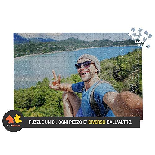 Solopuzzles Puzzle Personalizzato con la Tua Foto Preferita. 1000 Pezzi (68 x 48 cm). 10 Formati...