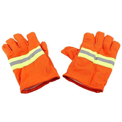 MASUNN Fire guanti protettivi ignifughi prova di calore impermeabile fiamma-rardant antiscivolo...