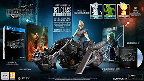 FINAL FANTASY VII REMAKE - 1ST CLASS EDITION [PS4]