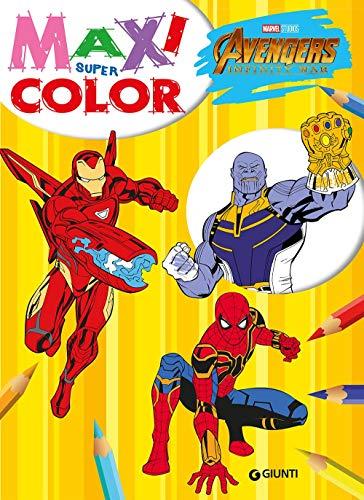 Avengers. Infinity war. Maxi supercolor