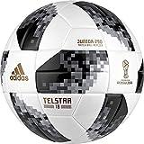 adidas World Cup J290 Balón, Hombre, Blanco/Negro/Plamet, 4