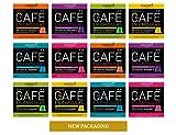 VIAGGIO ESPRESSO - 120 Cápsulas de Café Compatibles con Máquinas Nespresso (SELECCIÓN CLÁSICOS)