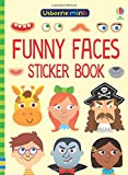 Funny Faces Sticker Book (Usborne Minis)