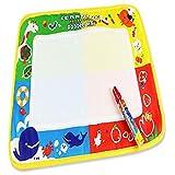 Juguete del bebé, RETUROM 46X30cm Water Drawing Mat Board & Magic Pen para bebé Niños de juguete