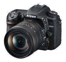 Nikon D7500 + AF-S DX NIKKOR 16-80 VR Juego de cámara SLR 20,9 MP CMOS 5568 x 3712 Pixeles Negro - Cámara Digital (20,9 MP, 5568 x 3712 Pixeles, CMOS, 4K Ultra HD, Pantalla táctil, Negro)