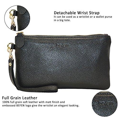 47c5066890438 Belfen-Women-Slim-Leather-Wristlet-Wallet-Smartphone-Cell-
