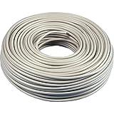 Mantelleitung NYM-J 3x1,5mm² Kabel | 50m Ring, 3 adriges Installationskabel nach DIN VDE 0250-204