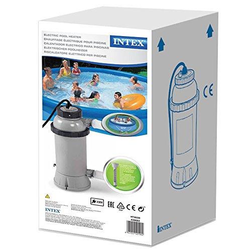 Intex 56684ef accessoires piscines r chauffeur 3 kw for Rechauffeur piscine intex pas cher
