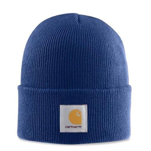 Carhartt - Acrylic Watch cap - Blu CHA18DCB Uomini Inverno Beanie Lana Sci cappe CHA18DCB-Universal