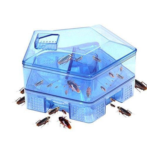 Gion Cockroach Traps Box Cockroach Bug Roach Catcher Cockroach Killer Bait Traps Effective Pesticide Kitchen Restaurant Essentials