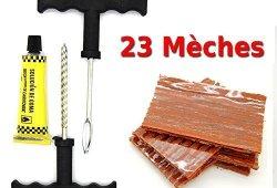 kit de reparation avec mèches pour pneu tubeless – Kit de réparation + Recharge prêt à acheter