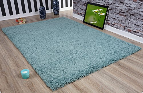 Serdim tappeti tappeti, Iuta, Duck Egg Blue, 60x 110cm