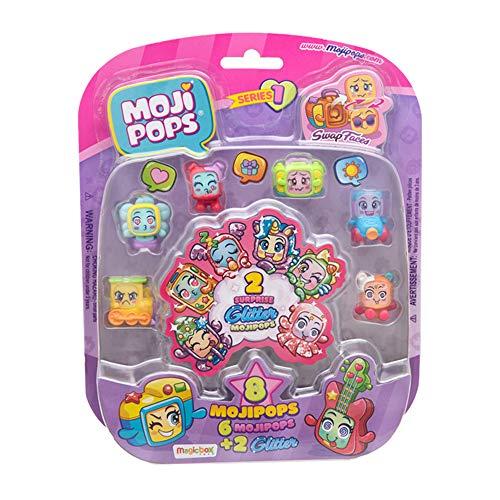 MojiPops - Glitter Surprise Figure da Collezione, Serie 1, Assortito