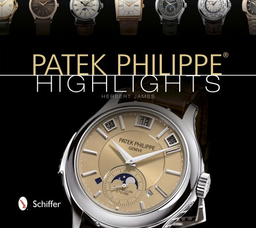 Patek Philippe Highlights Hardcover Watch 8.2 inches
