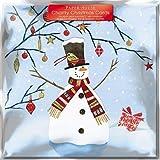 Caridad tarjetas de Navidad (ph3746)–Snowmans presente–Pack de 6tarjetas–Se vende en ayuda de clic Sargent, Vivaz, Tenovus, asociación, NSPCC y la división multinacional de atención de cáncer ABF los soldados 'caridad