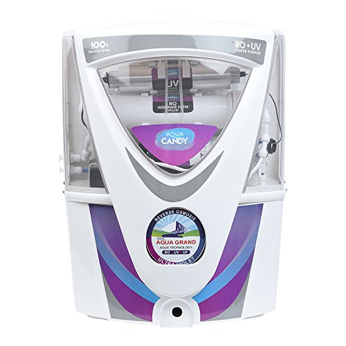 DEAL AQUAGRAND RED AQUA CANDY 17 LTR Electrical & Storage RO + UV +UF Purifying Technology 17 LTRs Water Purifier