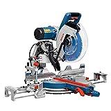 Bosch Professional Kapp- und Gehrungssäge GCM 12 GDL (Doppellinienlaser, Kreissägeblatt, Spannzange, Karton, Sägeblattdurchmesser: 305 mm, 2000 Watt)
