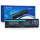 DTK Batería de repuesto para portátil for Toshiba part number PA5023U-1BRS, PA5024U-1BRS, PA5025U-1BRS, PA5026U-1BRS, PABAS259, PABAS260, PABAS261, PABAS262, 6cells 4400 mAh Satellite L850 Series