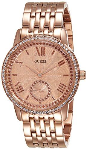 Guess donna-orologio Cronografo in acciaio inox luenette W0573L3