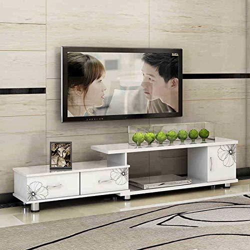 MACUH Home Mobile Moderno Minimalista Europeo a Scomparsa per TV, Mobile da Tavolo, Combinazione,...