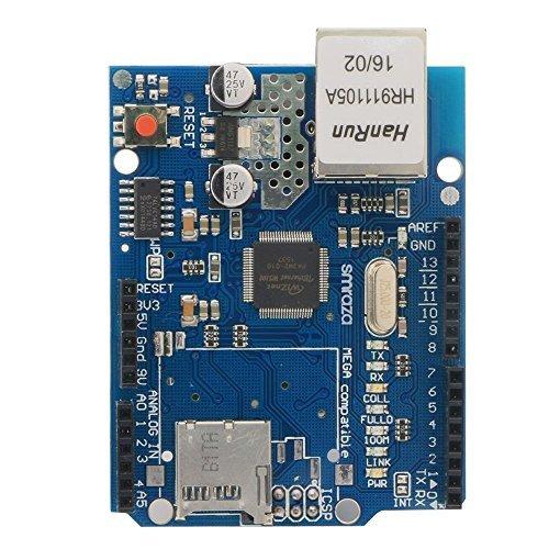 Smraza Ethernet Shield W5100 Scheda di Rete Modulo per Arduino R3 Mega 2560 1280