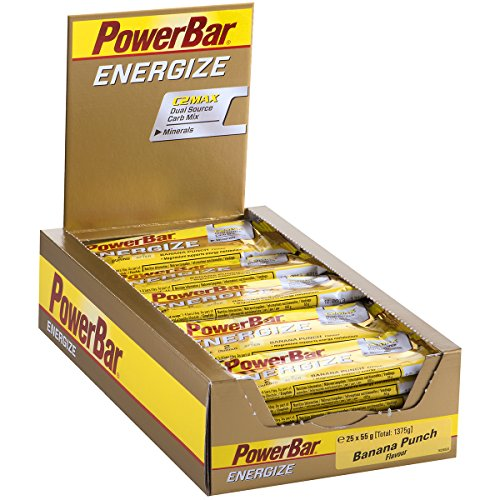 PowerBar Energize Bars - 25 unidades Banana Punch