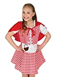 CHILD GIRL FAIRTYTALE LITTLE RED RIDING HOOD BOOK WEEK COSTUME SIZE SMALL AGE 4-6 YEARS