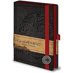 """Game of Thrones SR71898""""Targaryen"""" - Cuaderno A5, diseño de Juego de Tronos"""