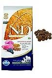N&d low grain N& d Low Grain con Agnello e Mirtillo Secco Cane kg. 12, Multicolore, Unica
