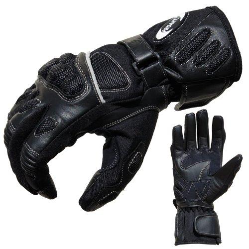Motorradhandschuhe Sommer Tour PROANTI® Motorrad Handschuhe (Gr. XS - XXL, schwarz) 1