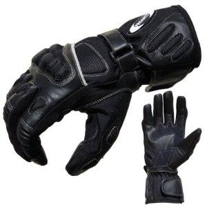 Motorradhandschuhe Sommer Tour PROANTI® Motorrad Handschuhe (Gr. XS - XXL, schwarz) 3