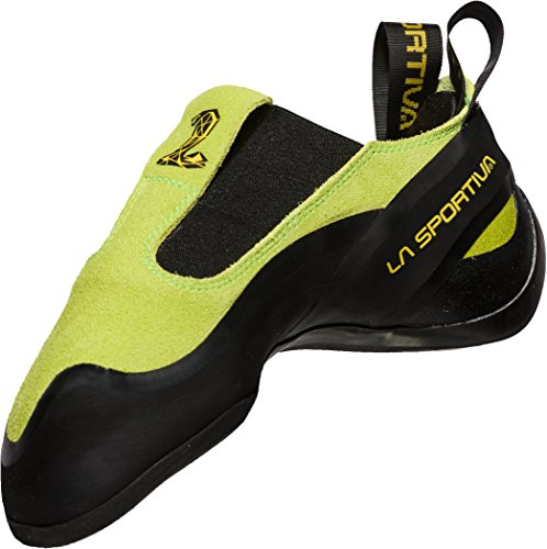 La Sportiva Cobra, Zapatos de Escalada Unisex Adulto, Verde (Apple Green 000), 42.5 EU