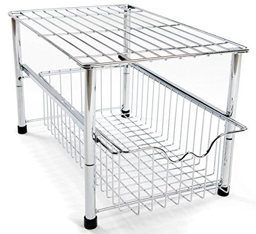 Amtido – Organizer impilabile da mettere sotto il lavabo con ...