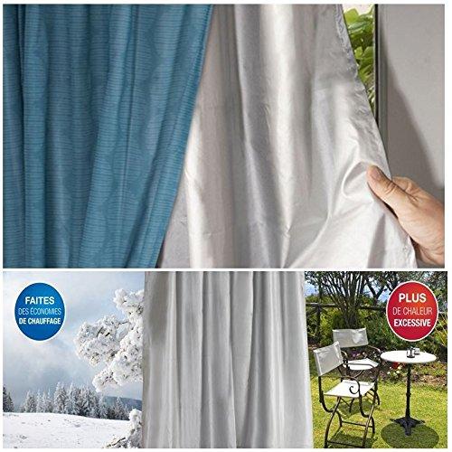Probache rideau thermique isolant anti froid pour for Film anti froid fenetre