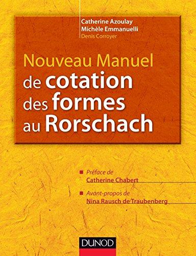 Nouveau manuel de cotation des formes au Rorschach 22