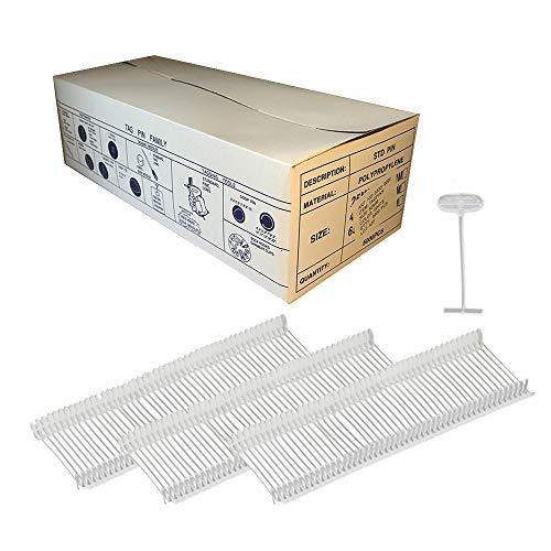 5000 fili per cucitrice 15 mm per pistola etichettatrice standard - Tag Pin trasparente