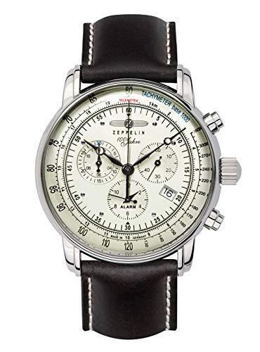 Zeppelin Alarm-Herrenchronograph 100 Jahre Zeppelin 8680-3