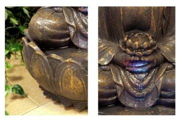 Ambiente Fuente de Jardín Buda en Meditación 4