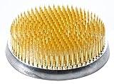 Tierra Zen KE102 Kenzan Ronda de 36 mm de Brown