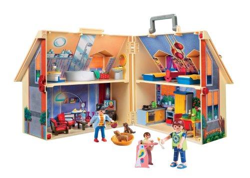 playmobil 5167 jeu de construction maison transportable - Jeu De Construction De Maison Gratuit