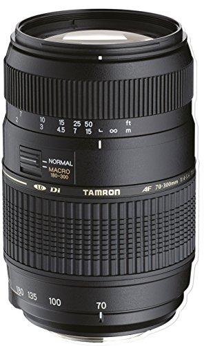 Tamron 70-300mm Di LD - Objetivo para Sony/Minolta (70-300mm, f/4-5.6, Macro, 62mm), color negro