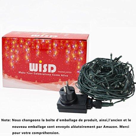 Guirlande-lumineuse-WISD-sur-Cble-Vert-avec-8-modes-de-fonction-EU-Prise-Plug-Dcoration-Romantique-Intrieure-et-Extrieure-pour-Nol-Sapin-Chambre-Jardin-Ftes-Mariages