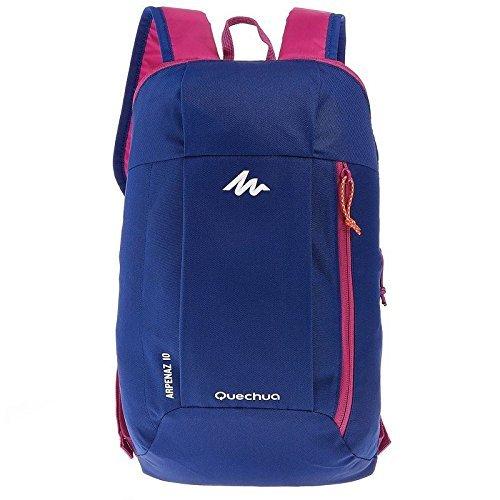 Quechua 8331388 Arpenaz Hiking Bag, 10L (Blue/Purple)
