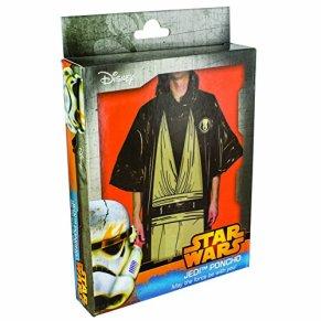 Star Wars - Disfraz poncho Jedi, color negro (Paladone PP2826SW)
